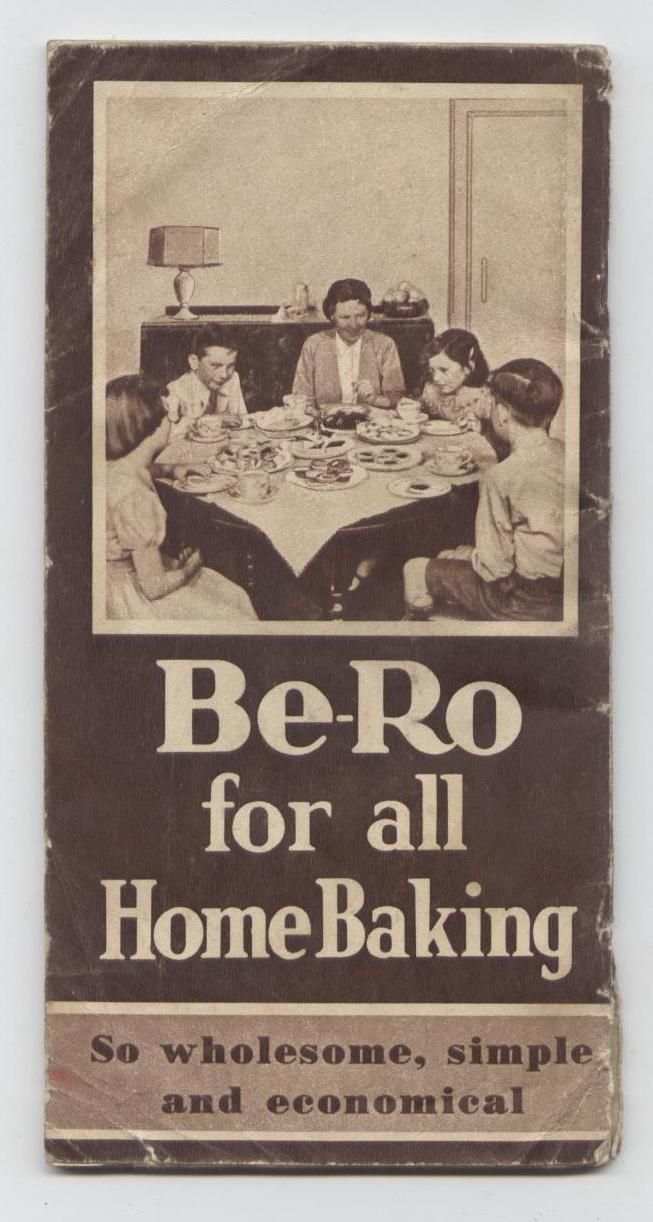Vintage Recipe Cookery Book Be Ro Bero Flour Home Recipes